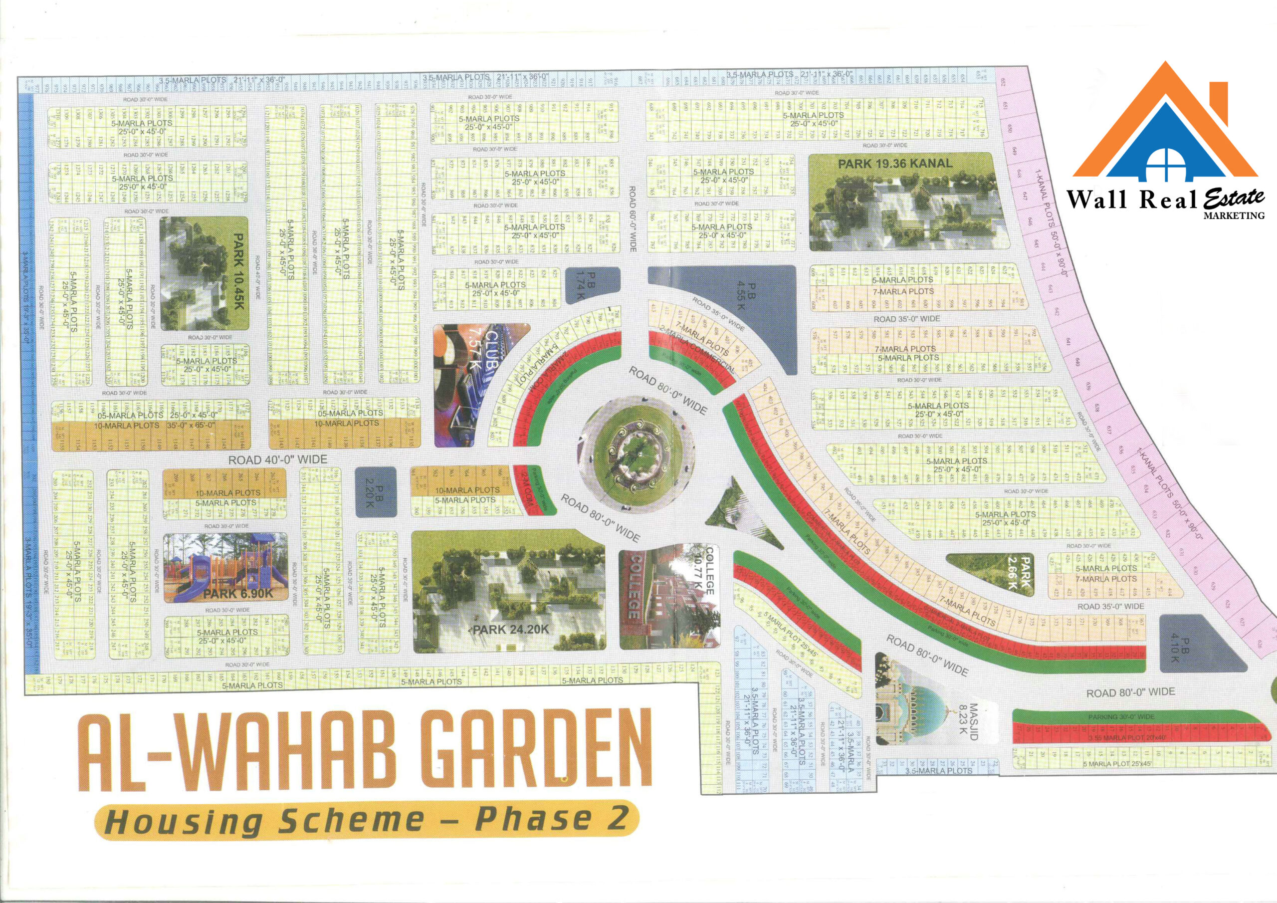 Al-Wahab-Garden-Phase-II-C-Block-Location-Map