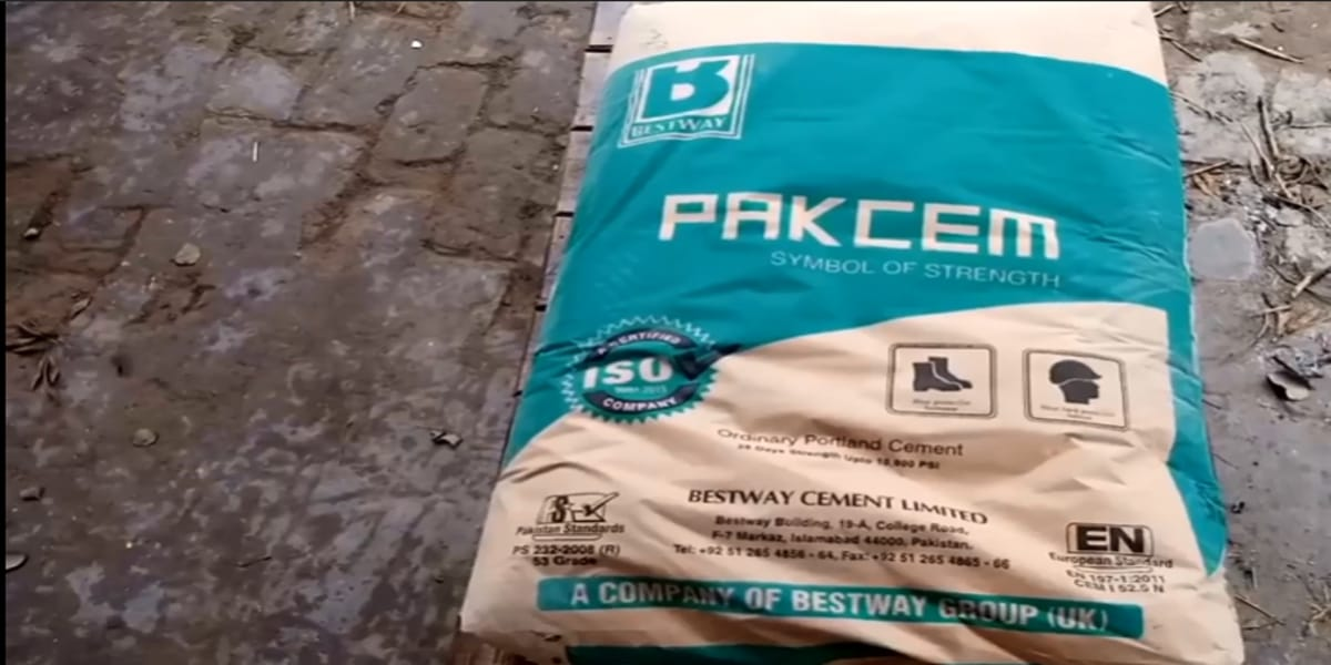 Cement types for house construction
