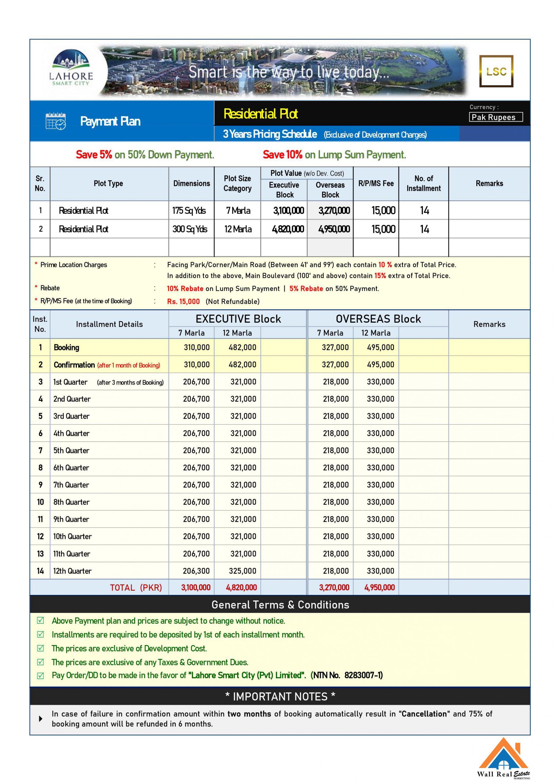 Lahore-smart-city-payment-plan-7-12-marla