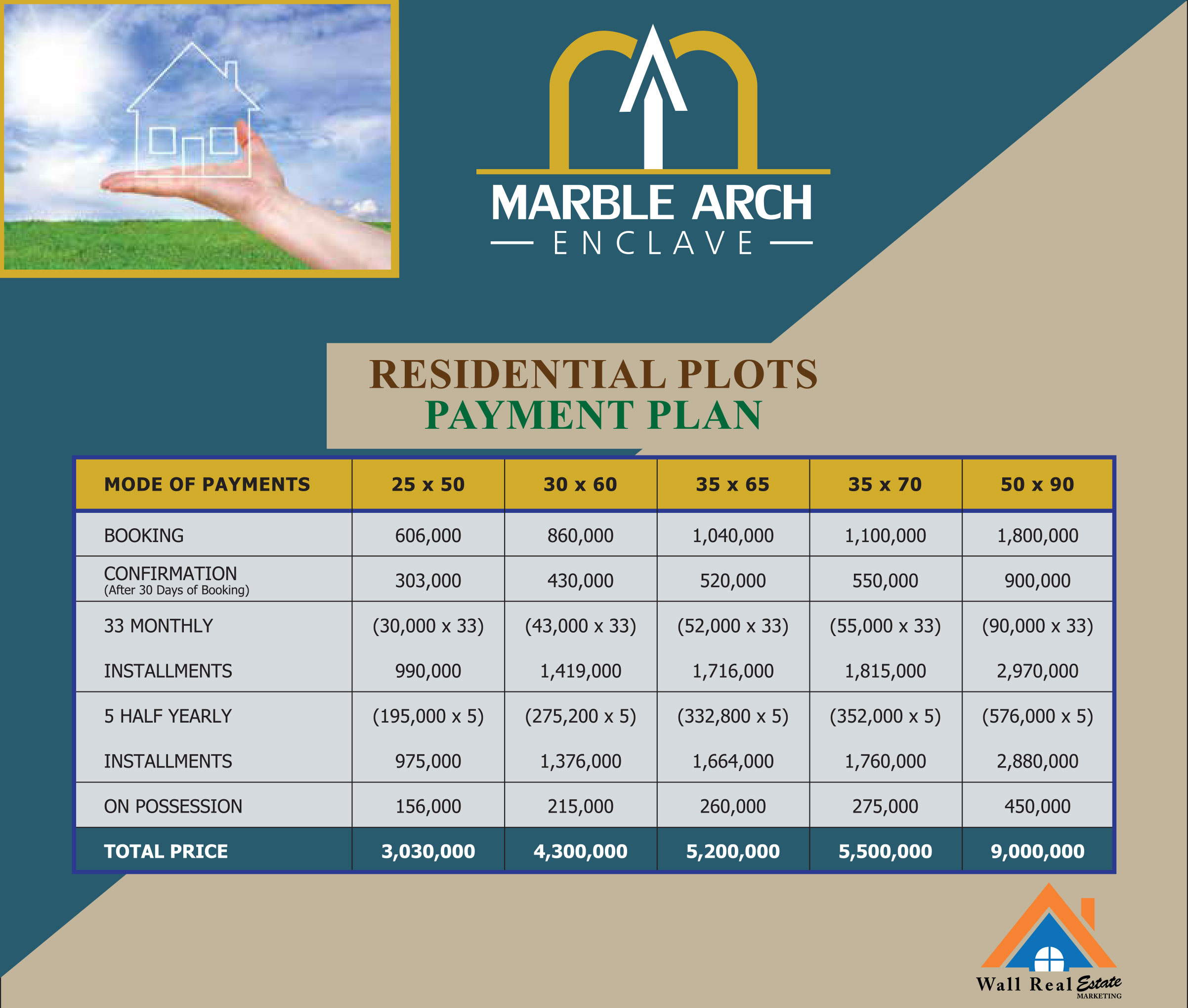 Marble-Arch-Enclave-Residential-Plots-Payment-Plan